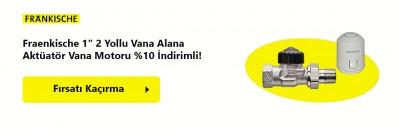 Fraenkische 2 Yollu Vanaya Aktüatör %10 İndirimli