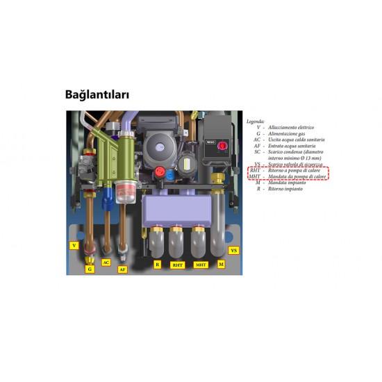 Immergas Magis Victrix 27KW ERP Monoblok Hibrit