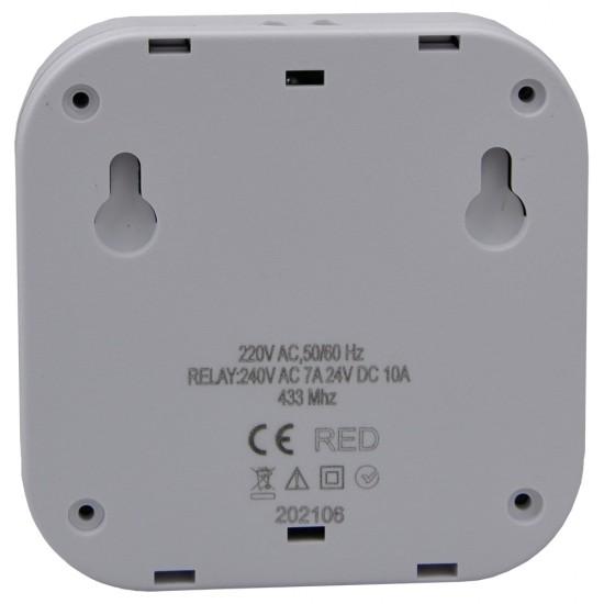 Redblue RB10 RF Kablosuz Dijital Oda Termostatı