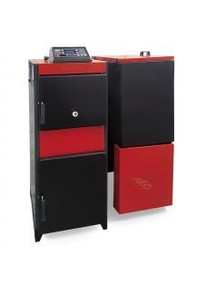 Ünmak 100000 Kcal Katı Yakıtlı Manuel ve Stokerli(Otomatik Yüklemeli) Kazan ÜKY/DUO-100