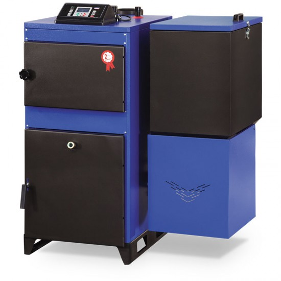 Ünmak 45000 Kcal Katı Yakıtlı Stokerli(Otomatik Yüklemeli) Kazan ÜKY/Y-45
