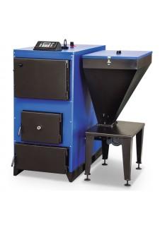 Ünmak 130000 Kcal Katı Yakıtlı Stokerli(Otomatik Yüklemeli) Prizmatik Kazan ÜKYP/Y-130