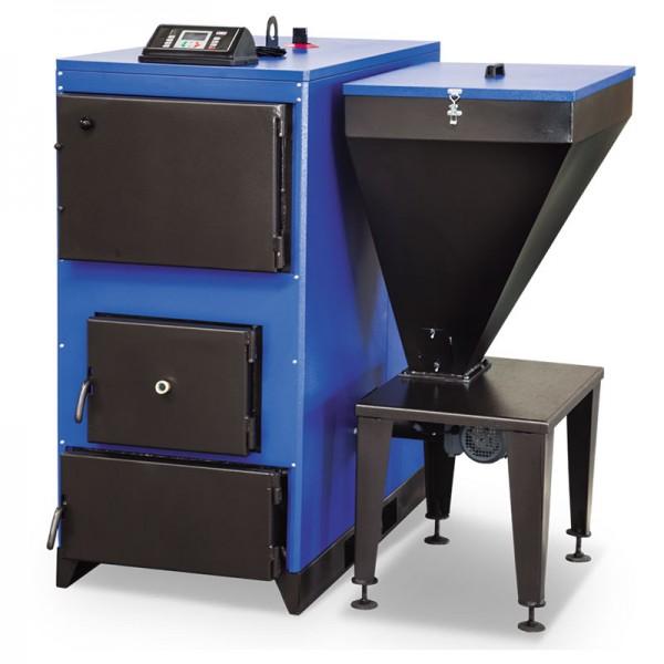 Ünmak 180000 Kcal Katı Yakıtlı Stokerli(Otomatik Yüklemeli) Prizmatik Kazan ÜKYP/Y-180